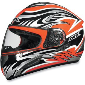 AFX Orange Multi FX-100 Helmet - 0101-4522