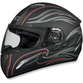 AFX Black Waves FX-100 Helmet - 0101-4523