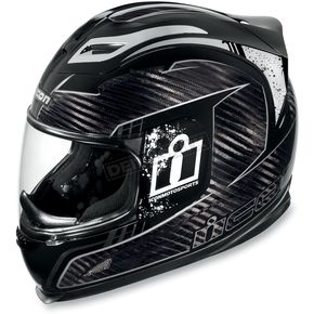Icon Airframe Lifeform Carbon Black Helmet - 01014564