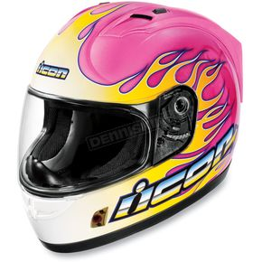 Icon Alliance SSR Igniter Pink Helmet - 0101-4618