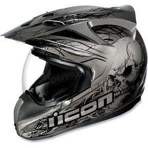 Icon Variant Black Etched Helmet - 01014727