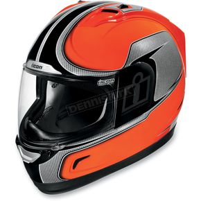 Icon Alliance Hi-Viz Orange Helmet - 01014