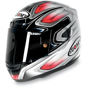 Suomy Cool Red Apex Helmet - KTAP00013XL