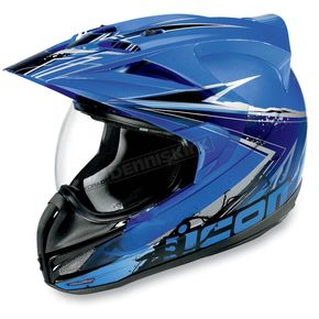 Icon Variant Blue Salvo Helmet - 0101-5496