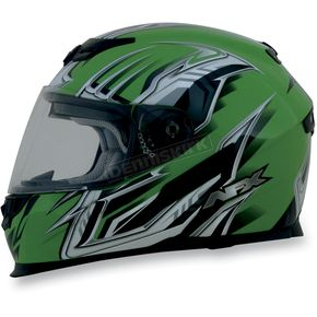 AFX Green Multi FX120 Helmet - 0101-6465