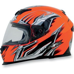AFX Safety Orange Multi FX120 Helmet - 0101-6471