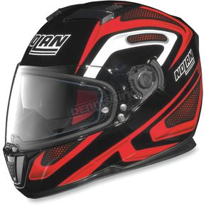 Nolan Black/Red/White N86 Overtaking Helmet - N8R5277930335