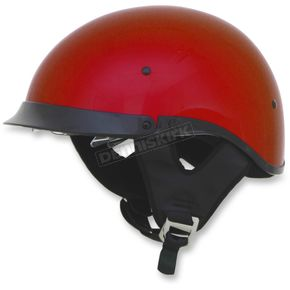 AFX Candy Apple Red FX-200 Dual Inner Lens Helmet - 0103-0969