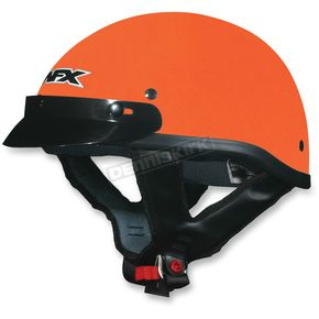 AFX Safety Orange FX-70 Beanie Helmet - 0103-1056