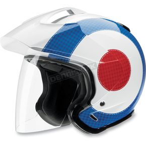 Z1R Ace Transit Royale Air Red/White/Blue Helmet - 01040771
