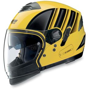 Nolan Yellow/Black N43ET Trilogy N-Com Helmet - N4E5271690142