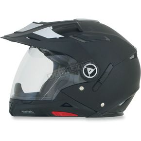 AFX Flat Black FX-55 7-in-1 Helmet - 0104-1232