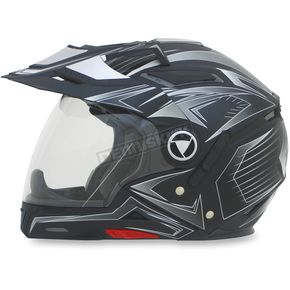 AFX Flat Black FX-55 7-in-1 Helmet - 0104-1575