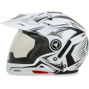 AFX Pearl White Multi FX-55 7-in-1 Helmet - 0104-1598