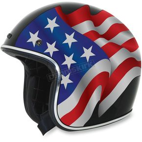 AFX Black FX-76 Freedom Helmet - 0104-1641