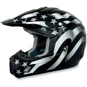 AFX Youth FX-17Y Stealth Flag Helmet - 0111-0695