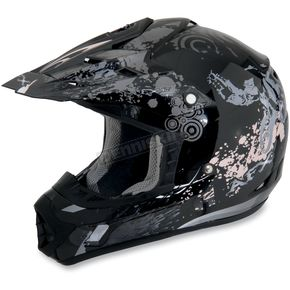 AFX Youth Black Stunt FX-17 Helmet - 01110715