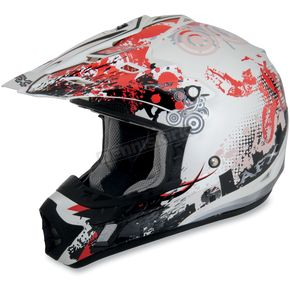 AFX Youth Red Stunt FX-17 Helmet - 0111-0718