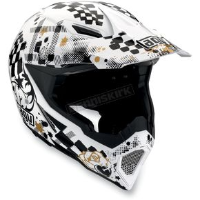 AGV White/Black AX-8 Helmet - 01102648