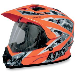 AFX FX39 Urban Orange Helmet - 0110-2796