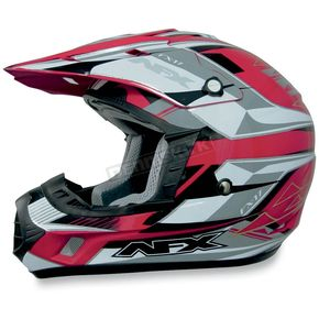 AFX FX-17 Red Multi Helmet - 0110-2944