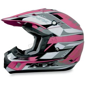 AFX FX-17Y Pink Multi Youth Helmet - 01110796