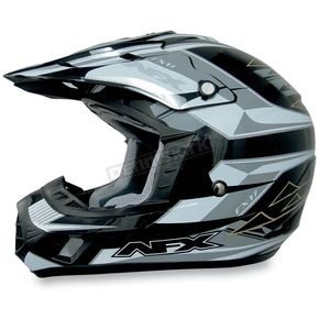 AFX Black Multi FX17 Helmet - 01102990
