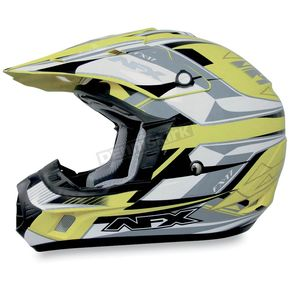 AFX Hi-Vis Yellow Multi FX17 Helmet - 0110-3004