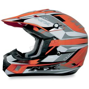 AFX Orange Multi FX17 Helmet - 0110-3016