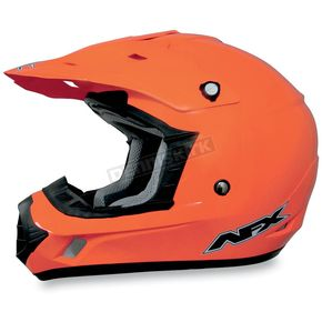 AFX FX-17Y Safety Orange Youth Helmet - 0111-0780