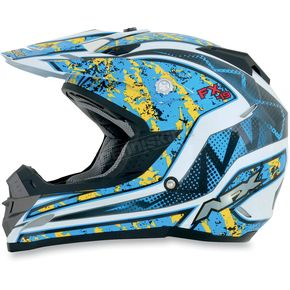 AFX Black/Yellow FX-19 Vibe Helmet - 0110-3275