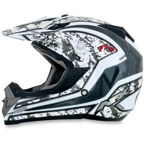 AFX Silver FX-19 Vibe Helmet - 0110-3297