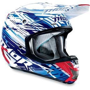 Thor Blue Verge Twist Helmet - 0110-3341