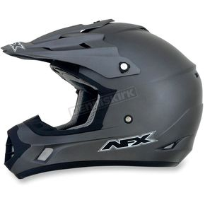 AFX Youth Frost Gray FX-17Y Helmet - 0111-0894