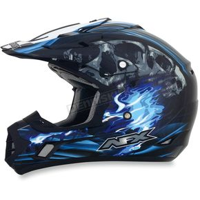 AFX Black/Blue Multi FX-17 Inferno Helmet - 0110-3519