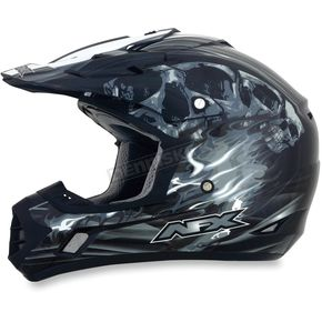 AFX Black Multi FX-17 Inferno Helmet - 0110-3553