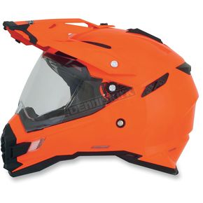 AFX Safety Orange FX-41DS Helmet - 0110-3767