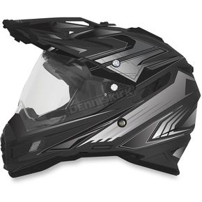 AFX Flat Black Multi FX-41DS Helmet - 0110-3914