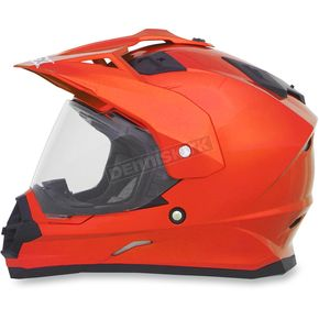 AFX Safety Orange FX-39DS Helmet - 0110-4068