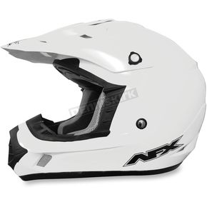 AFX Youth White FX-17 Helmet - 0111-0949