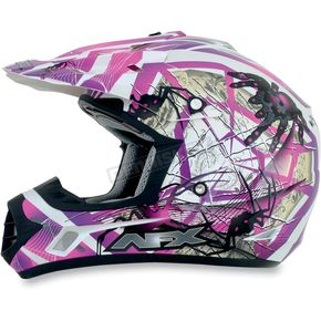 AFX Youth Fuchsia FX-17Y Trap Helmet - 0111-0852