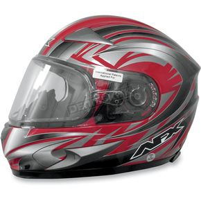 AFX Red Multi FX-90S Snow Helmet - 01210449