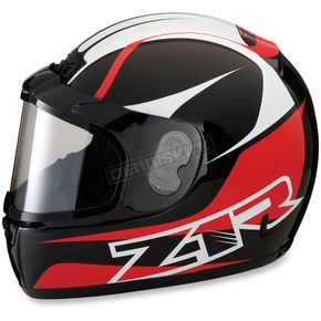 Z1R Red Phantom Peak Helmet - 0121-0824