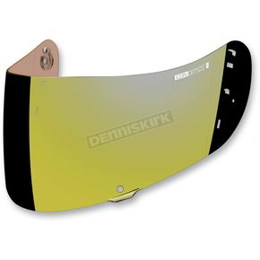 Mirror Gold Fog-Free Con Optics Shield for Airmada/Airframe Pro Helmets - 0130-0481