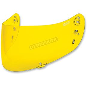 Icon Yellow Optics Shield for Icon Airmada/Airframe Pro Helmets - 0130-0500