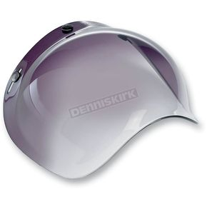Biltwell Smoke Gradient 3-Snap Bubble Shield - BV-SMK-00-GR