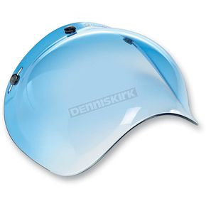 Biltwell Blue Gradient 3-Snap Bubble Shield - BV-BLU-00-GR