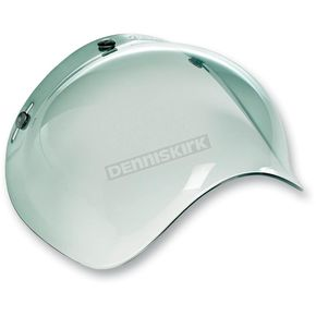 Biltwell Green Gradient 3-Snap Bubble Shield - BV-GRN-00-GR