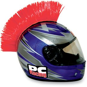 PC Racing Red Helmet Mohawk - PCHMRED