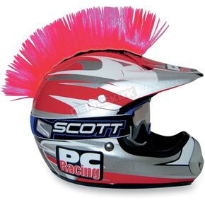 PC Racing Pink Helmet Mohawk - PCHMPINK